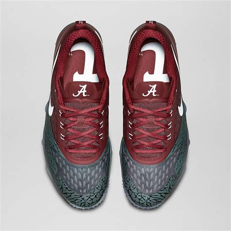 alabama football shoes nike zoom hypercross quot quest quot collection featuring