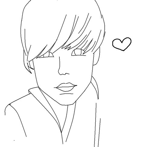 justin bieber printable coloring pages az coloring pages