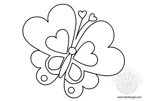 farfalle e fiori da colorare farfalla da colorare e ritagliare tuttodisegni
