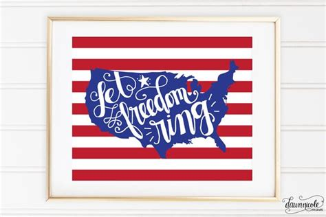 let freedom ring ebook hand lettered let freedom ring print dawn nicole designs 174