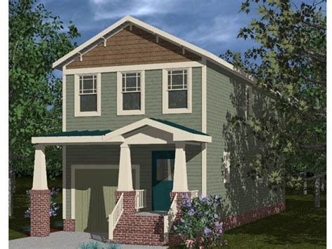 house plans for narrow lots craftsman style narrow lot house plans craftsman style