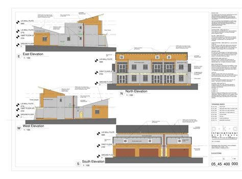 Apartment Building Floor Plans Lynnwood Apartments Elevations Danie Joubert