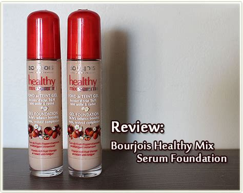 Harga Chanel Vitalumiere Foundation bourjois healthy mix serum 52 vanille harga terkini dan