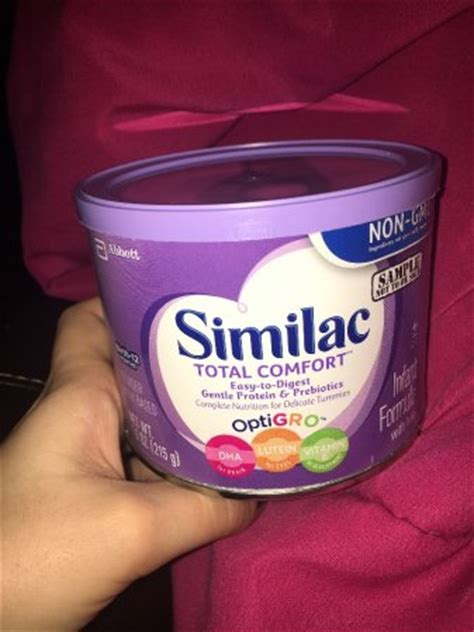 Feedback On Similac Total Comfort Babycenter
