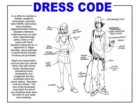 dress code for carroll county school dress code strict or