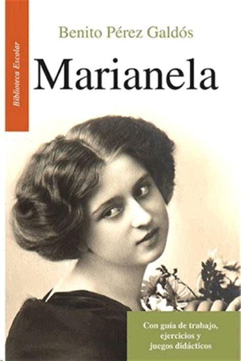 imagenes literarias de la novela marianela libros de perez galdos benito librer 237 a virgo