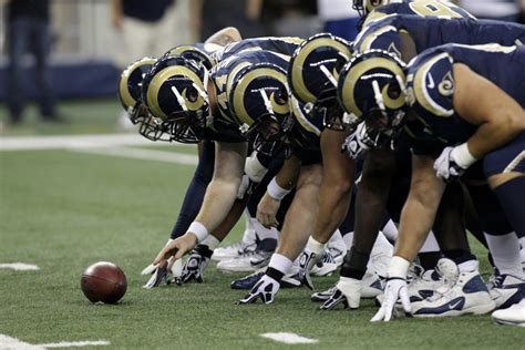 rams football nfl says quot you quot to st louis rams to los