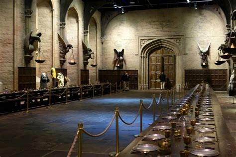 the great hall harry potter explore the warner brothers making of harry potter studio