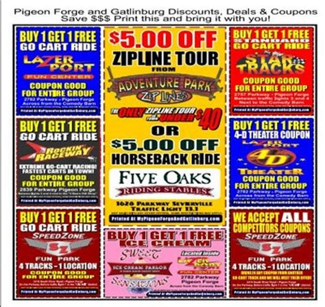 printable restaurant coupons for pigeon forge tn pigeon forge restaurant coupons 2017 2018 best cars