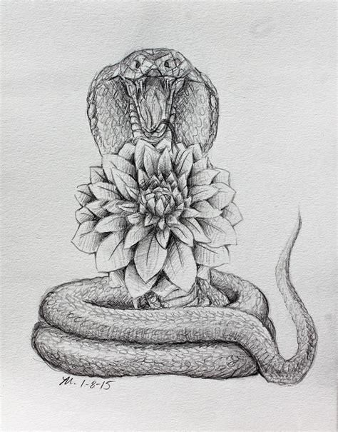 cobra tattoo design dahlia and cobra design by mopotter on deviantart
