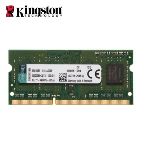 Memory Laptop 4 Giga aliexpress buy kingston notebook laptop memory ram ddr3 4gb 8gb 1600mhz 204 pin sodimm non