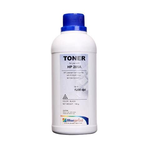 Toner Blueprint 85a jual blueprint toner refill hp285a serbuk tinta hitam