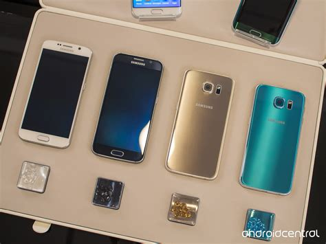 Samsung S6 End Colour Custom samsung galaxy s6 and s6 edge on preview android central