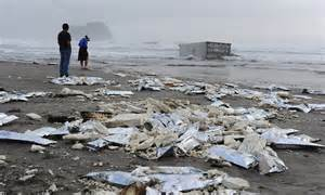 sinking boat team building game new zealand oil spill scavengers hit beach where cargo of