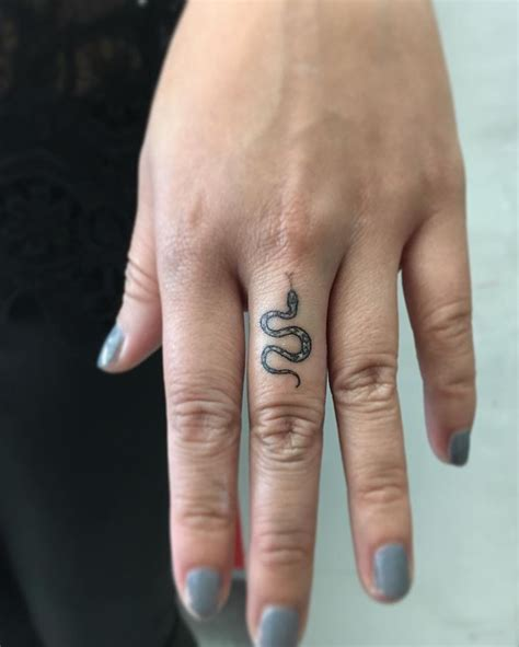 middle finger tattoos image result for snake small mc