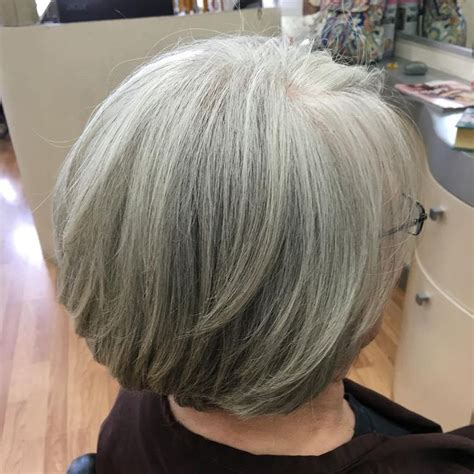 hairstyles layered bob for grey hair 94 best hair styles images on pinterest