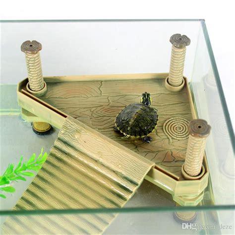Reptile Tank Basking Size L 2018 wholesale s m l aquarium reptile turtle floating