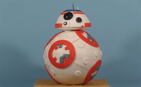 Pumpkin Cupcakes by Exclusive How Cake Rush Bakery Created The Star Wars Bb 8