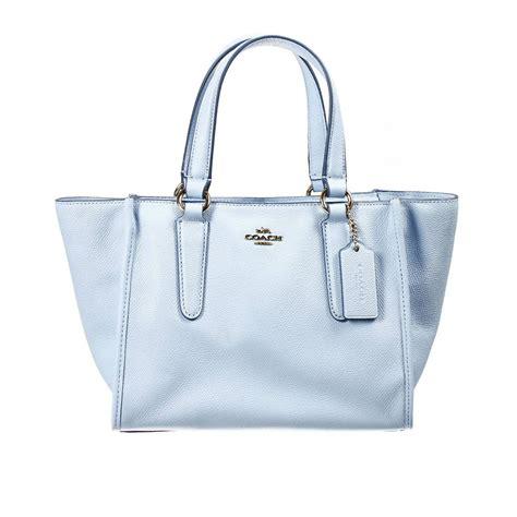 coach handbag bag mini crossbe carryall shopping leather