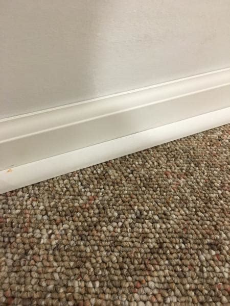Baseboards With Existing Carpet Doityourself Com