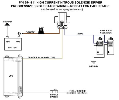 nitrous relay wiring with solenoid nitrous wiring diagram