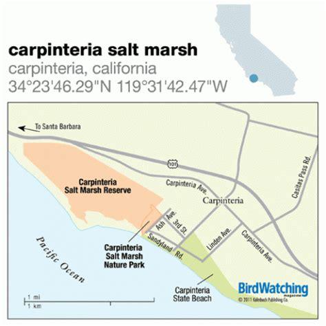carpinteria california map 116 carpinteria salt marsh carpinteria california