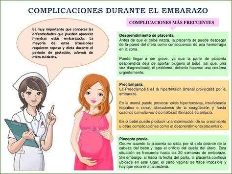 complicaciones en el embarazo complicaciones en el embarazo