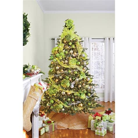 walmart skinny christmas tree better homes and gardens pre lit 7 5 hanover artificial tree clear lights i ve