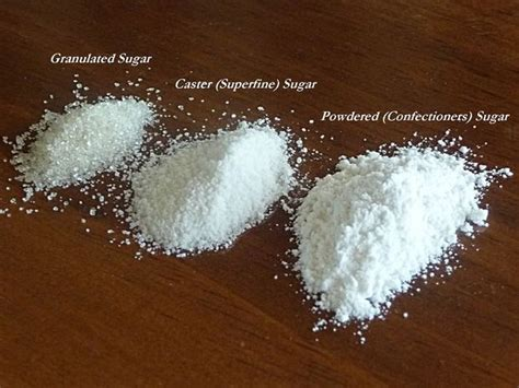 diy how to make caster and powdered sugar
