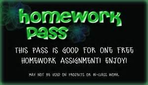 printable homework pass template memes