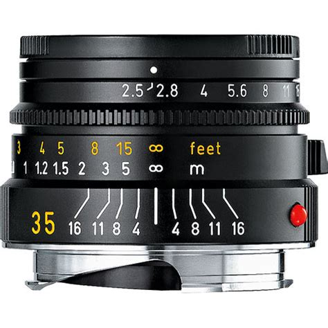 leica 35mm f 2 5 summarit m manual focus lens black 11