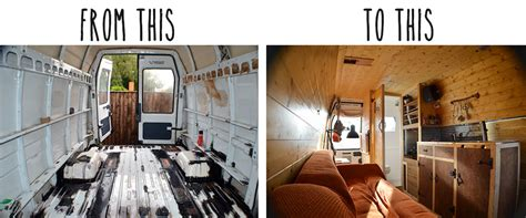 Campervan Design Curtains by Diy Camper From Rusty Van To Cosy Home Perfect Plumber