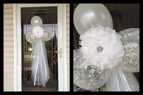 Bridal shower front door decor   Bridal shower ideas