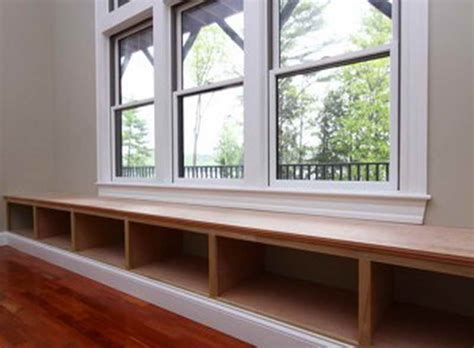 window bench seat plans window bench with book shelves interesting ideas for home