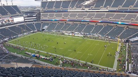 section 201 lincoln financial field upper sideline lincoln financial field football seating