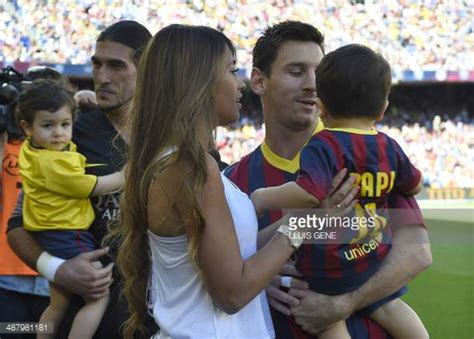 messi and wife lionel messi and his wife stock photos and pictures