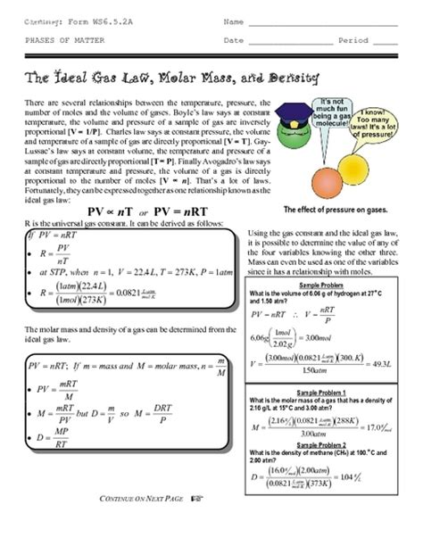 Molar Mass Worksheet Answers With Work by Molar Mass Worksheets Free Worksheets Library