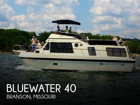 used boats for sale branson mo bluewater 40 boat for sale in branson mo for 37 700