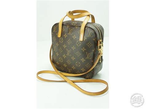 authentic pre owned louis vuitton monogram spontini