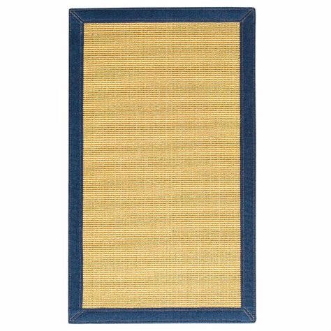 home decorators collection freeport sisal honey denim 4 ft