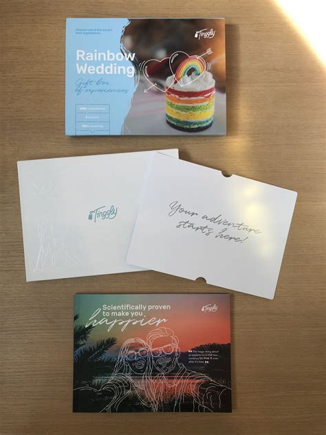Tinggly   Rainbow Wedding Gift Box of Experience   LGBT