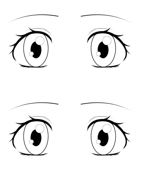 ophthalmology template eye template by love2drawmanga on deviantart