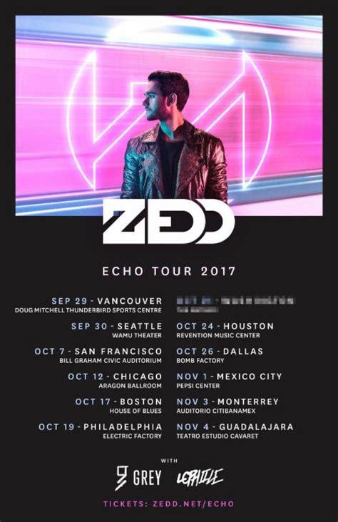 zedd la tickets zedd announces north american quot echo tour quot for this fall
