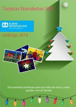 catalogo tarjetas pelanas by pelanas issuu cat 225 logo tarjetas navide 241 as sos 2016 by aldeas infantiles