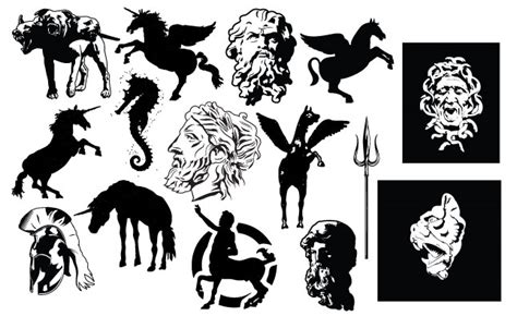 mythology vector pack go media arsenal