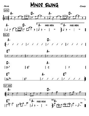 minor swing pdf minor swing django reinhardt pdf notice manuel d utilisation