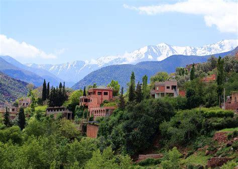 morroccan l high atlas mountains morocco
