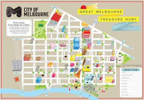 Home Design Store Melbourne by Beci Orpin Treasure Hunt Map Of Melbourne Broadsheet