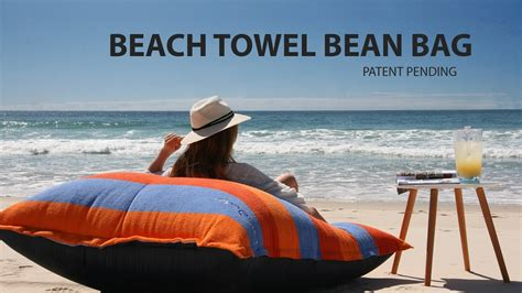 sandusa bean bag sandusa towel bean bag