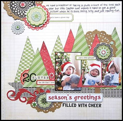 christmas themed scrapbook layout 246 best christmas scrapbook pages images on pinterest